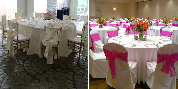 Chair Cover Rentals Pittsburgh PA